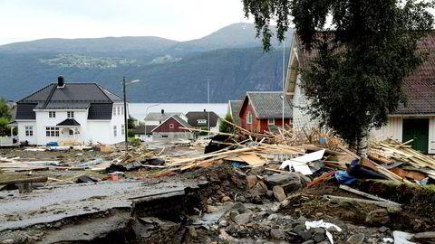 I fjor sommer førte flom og store menger nedbør til store skader i Utvik i Sogn og Fjordane. Slike problemer er noe bedrifter ikke lenger kan lukke øynene for.