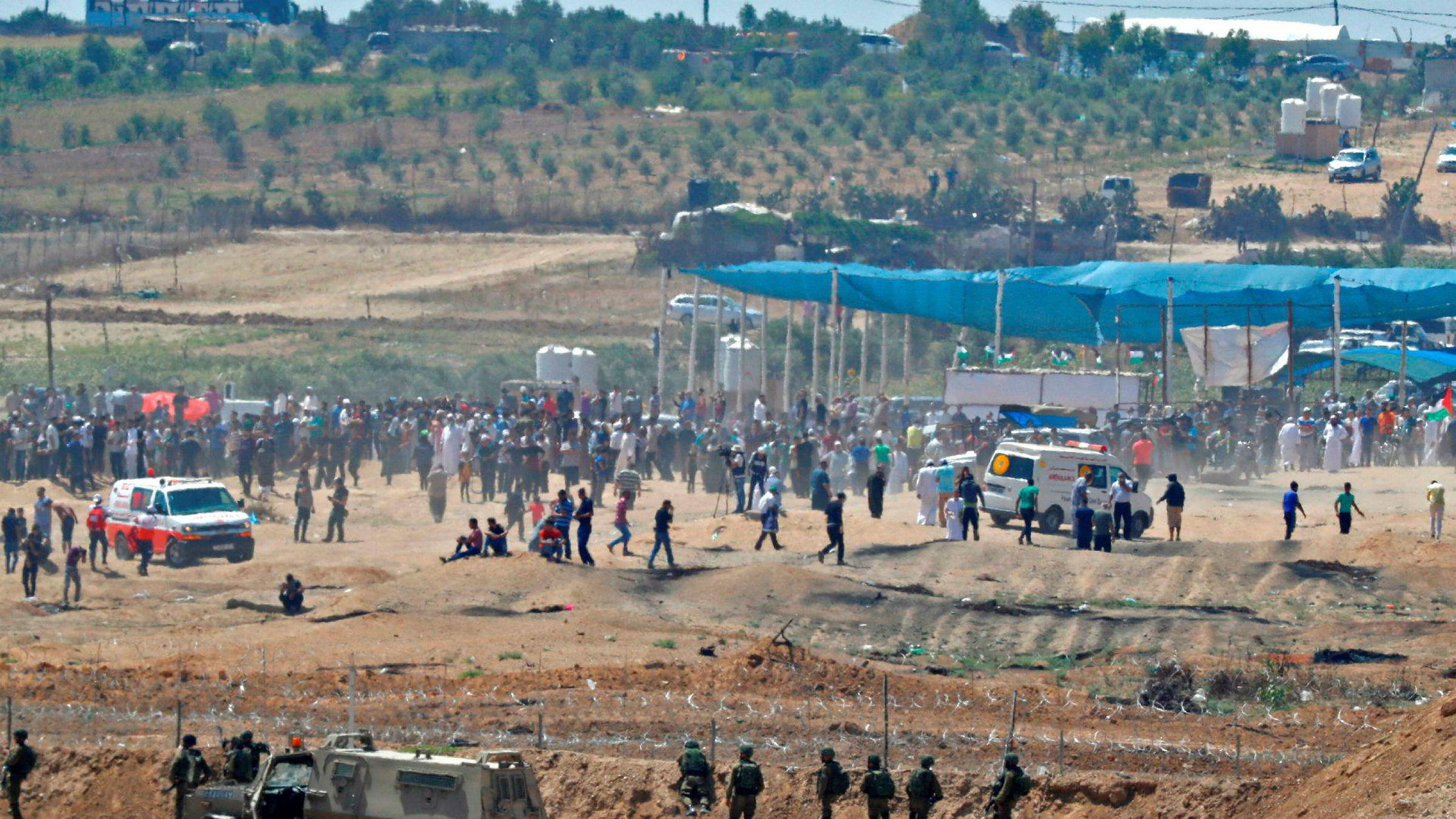 FN skal stemme over resolusjon mot Israels maktbruk mot palestinere på Gaza.
