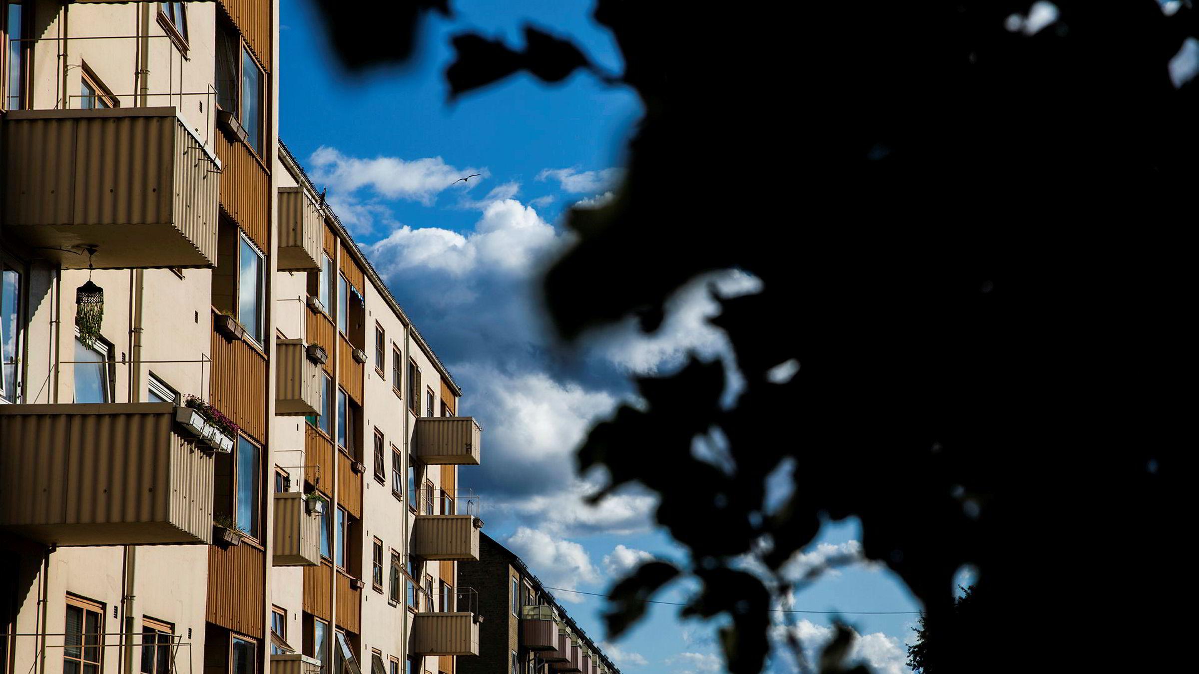 Tirsdag la Eiendom Norge frem den landsomfattende bruktboligrapporten for oktober. (Arkivfoto: boliger i Oslo).