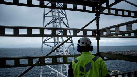 Selv om selskapet har byttet navn og investert i noen vindturbiner, er Equinor for alle praktiske formål fortsatt et olje- og gasselskap. Bildet er fra Troll-feltet i Nordsjøen, som er det største gassfunnet i Nordsjøen noensinne.