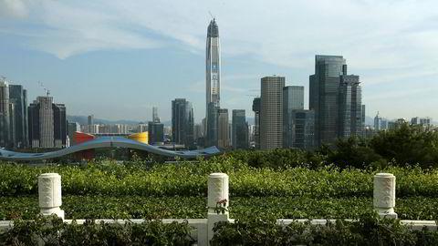 Shenzhen i Sør-Kina har på 40 år gått fra å være en liten fiskelandsby til å ha en større verdiskaping enn Hong Kong.