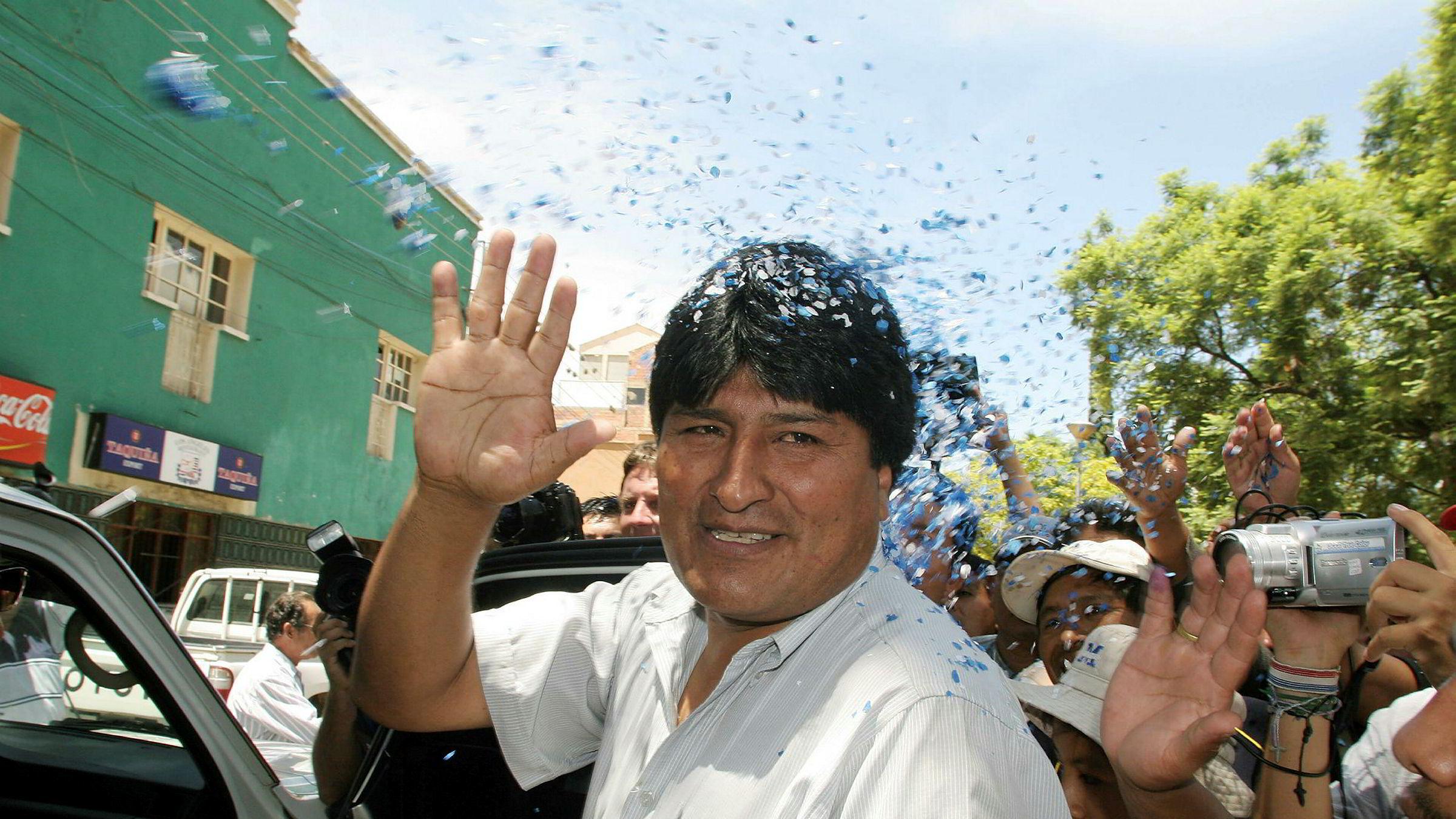 Evo Morales har fått asyl i Mexico.