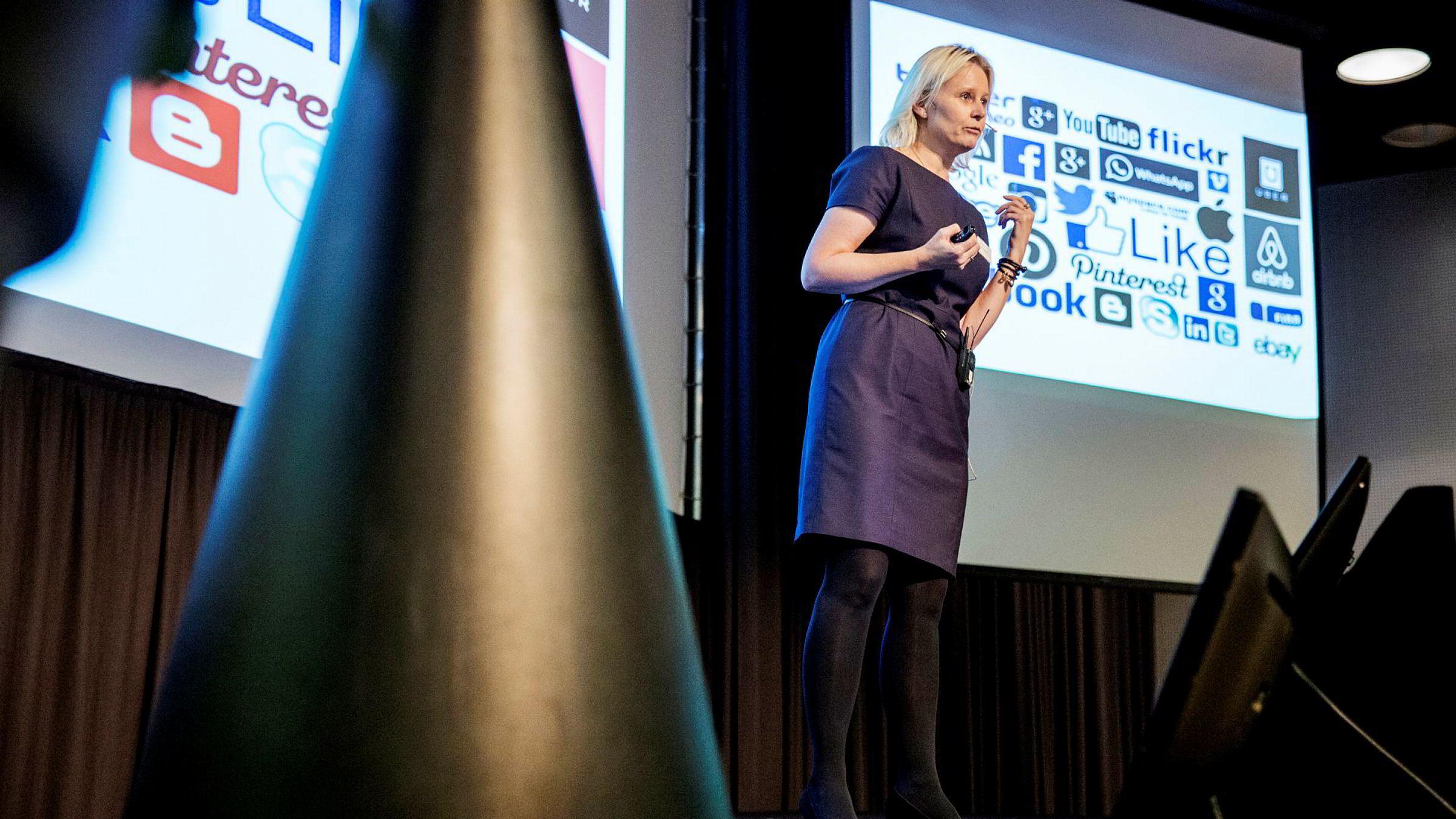 Bente Sollid Storehaug mener det blir feil å si at de nye toppdomene kjennetegnes av svindel. – Det som kjennetegner dem er at det har tatt lengre tid å få dem ut i markedet enn man trodde for tre år siden, sier hun.