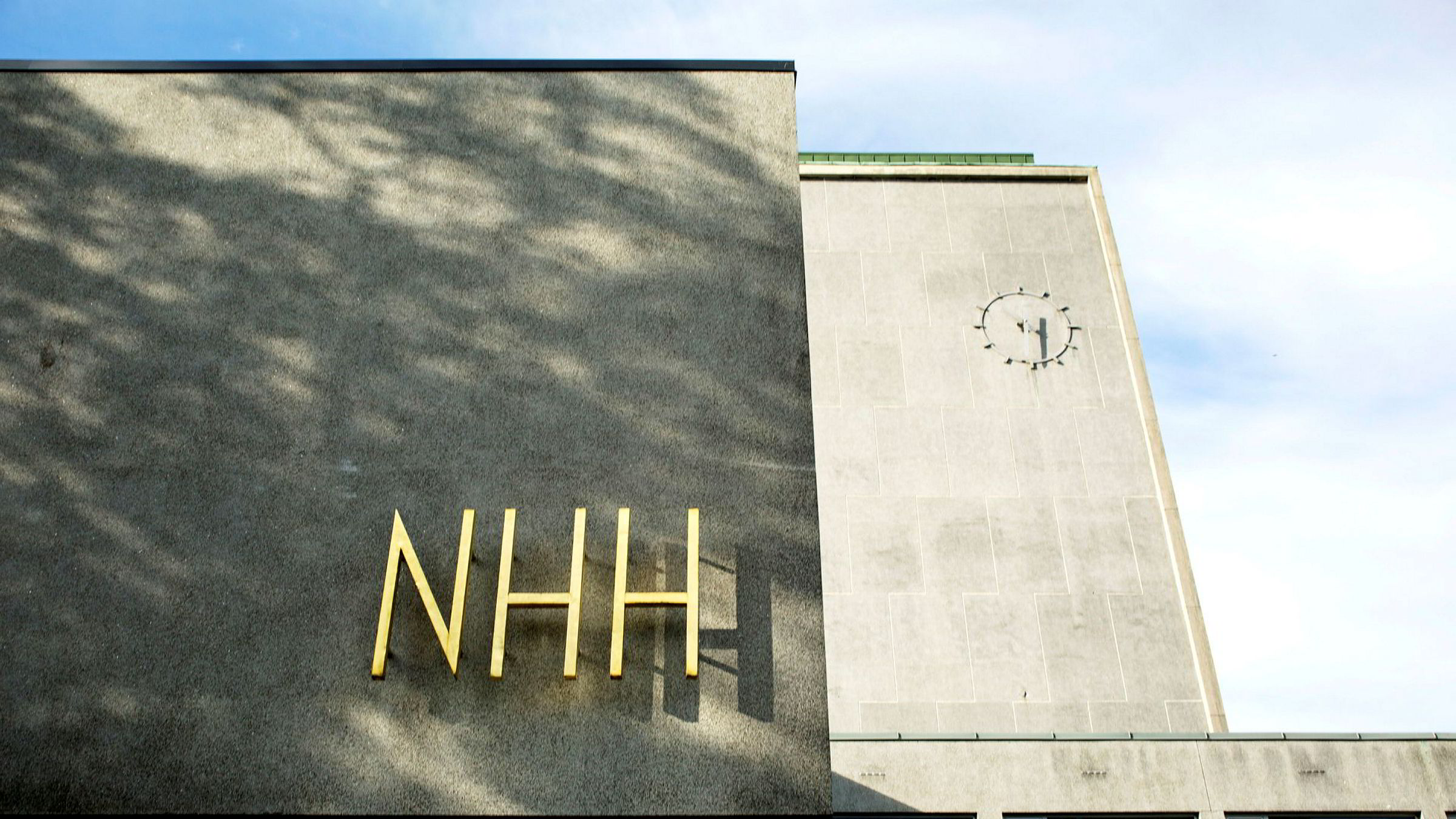 Norges Handelshøyskole beklager glipp.