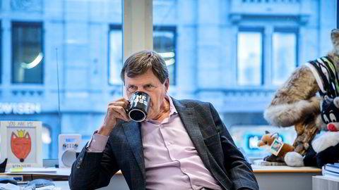 Svein Larsen, sjef for Radio Metro, har flere ganger skapt stor ståhei i forbindelse med slukkingen av fm-nettet. Nå gir han seg.