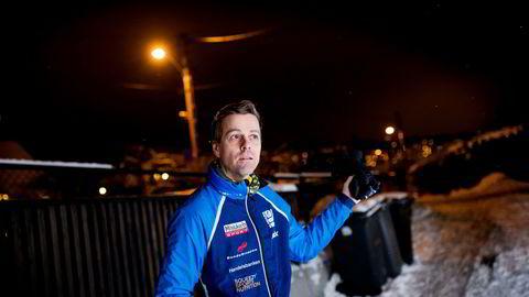 Krf-leder Knut Arild Hareide er glad i å gå på ski, men likte ikke kaoset og fylla i Holmenkollen i helgen.