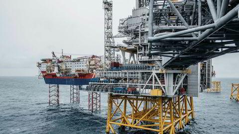 Den planlagte produksjonen av olje er 43 prosent større enn det togradersmålet tillater i 2040, og gassproduksjonen er 47 prosent større, skriver Kristin Halvorsen og Bård Lahn i innlegget. Her fra Johan Sverdrup-feltet i Nordsjøen.
