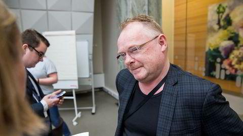Nærings- og fiskeriminister Per Sandberg.