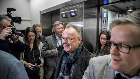Per Sandberg (Frp) er fungerende justisminister, en jobb han gjerne må få permanent, mener partiets parlamentariske leder Hans Andreas Limi.