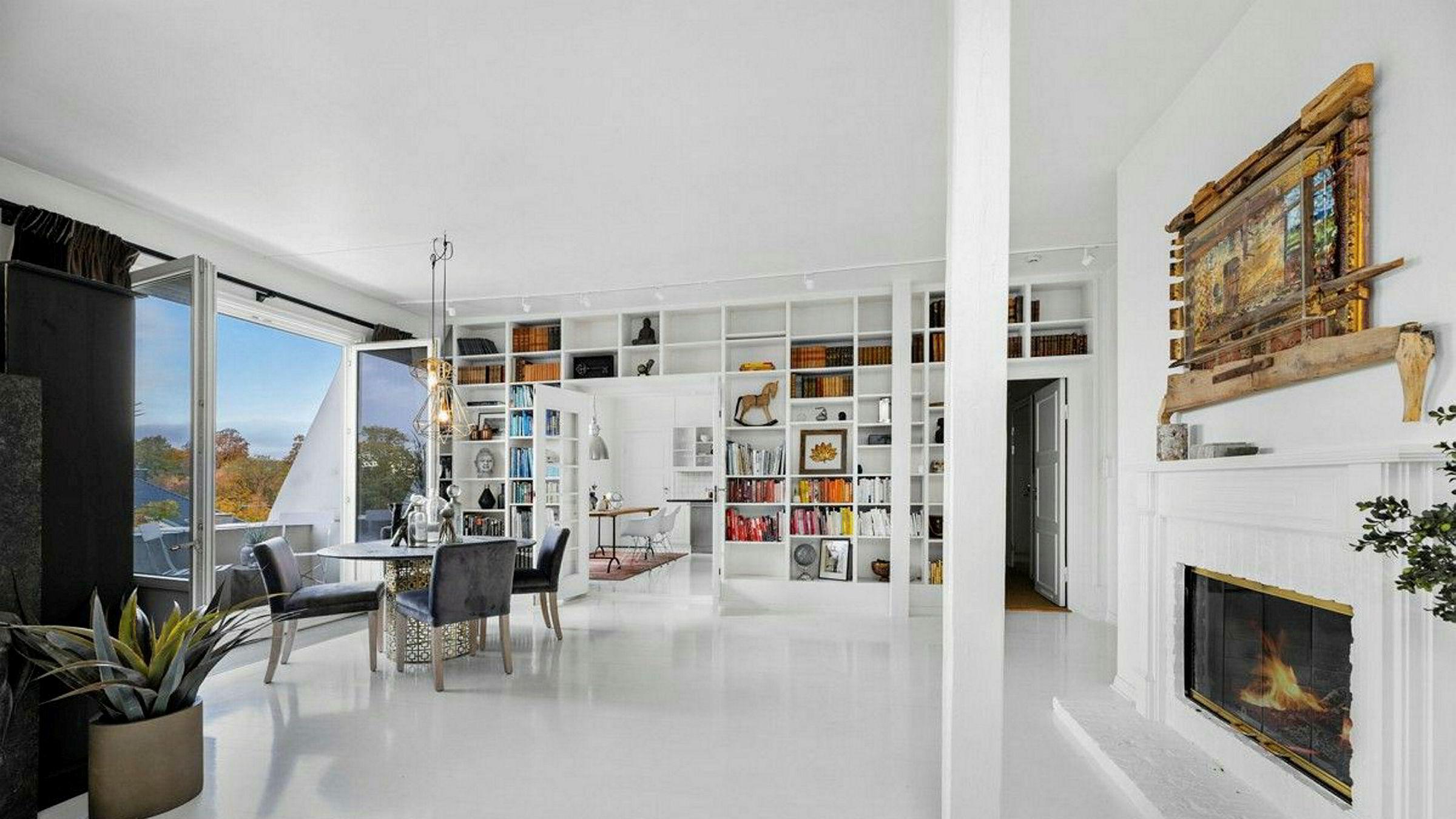 Isabelle Ringnes selger leilighet Frogner og flytter til nytt hus på Ormøya i november.