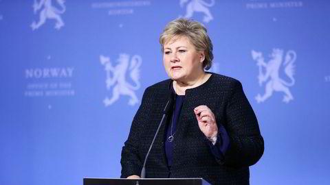 Statsminister Erna Solberg sier at hun forstår frykten.