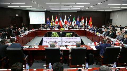 11 land rundt Stillehavet forsøker å blåse liv i handelssamarbeidet Trans Pacific Partnership (TPP) uten USA.