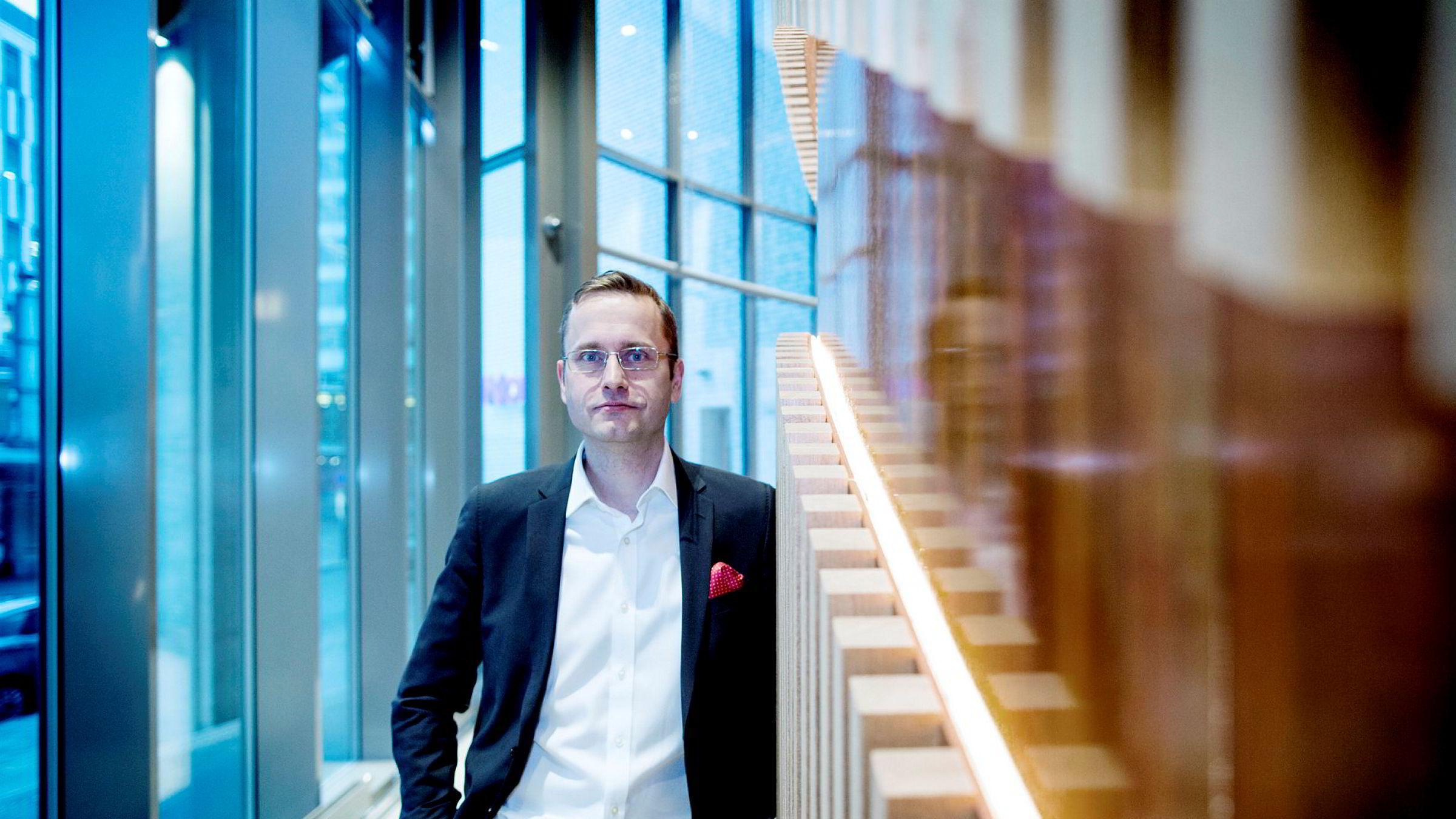 Snorre Storset, administrerende direktør i Nordea Norge, kan ikke kommentere om hvorvidt de vil sette ned boliglånsrentene eller ikke.