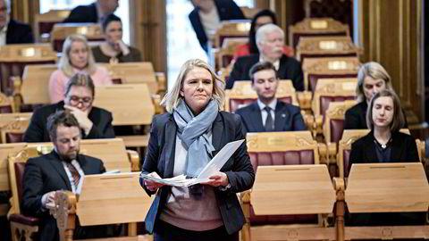 Justis-, beredskaps- og innvandringsminister Sylvi Listhaug.