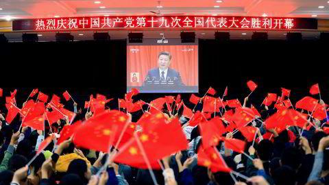 Etter at den 19. folkekongressen er avsluttet i Beijing denne uken, kan det bli klart hvem som er kandidater til å overta etter president Xi Jinping og lede Kina fra 2022 til 2032.