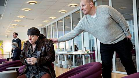 I januar 2015 var stemningen god mellom Lilyhammer-stjerne Steven van Zandt og Rubicon-sjef Pål Kruke Kristiansen. Siden har Kristiansens selskap gått med underskudd.