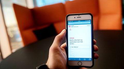Overnattingstjenesten Airbnb vurderer å utvide tilbudet til også å gjelde flyreiser. Foto: Fartein Rudjord
