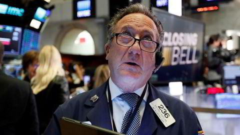 Opp eller ned? Det er stor spenning knyttet til hvordan det går her på de amerikanske børsene tirsdag, etter børsrallyet mandag.