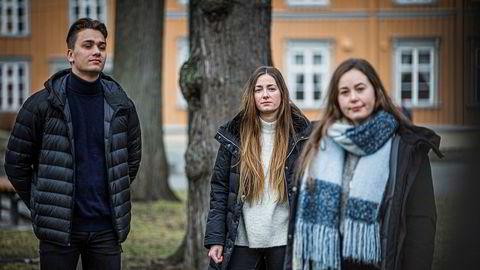 Malin Pettersen (24), Frida Skjei (26) og Petter Ingebrigtsen (25) Studenter. studenter trondheim.