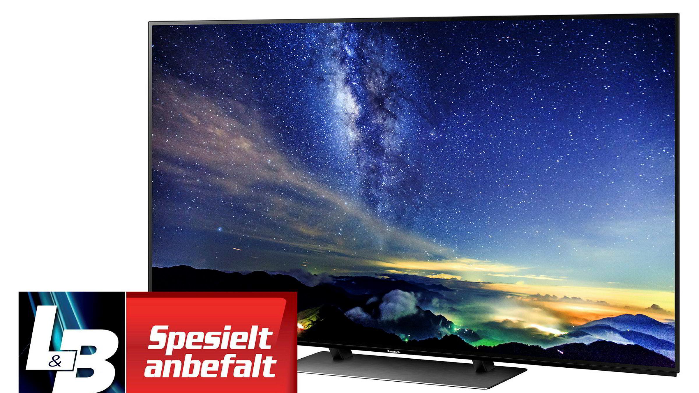 Panasonic TX-65EZ950E er OLED-tv-en alle konkurrentene må måle seg mot fremover.