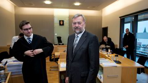 Bjarne Skeie i rettssalen i 2016.