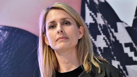 Administrerende direktør i Hennes & Mauritz, Helena Helmersson.