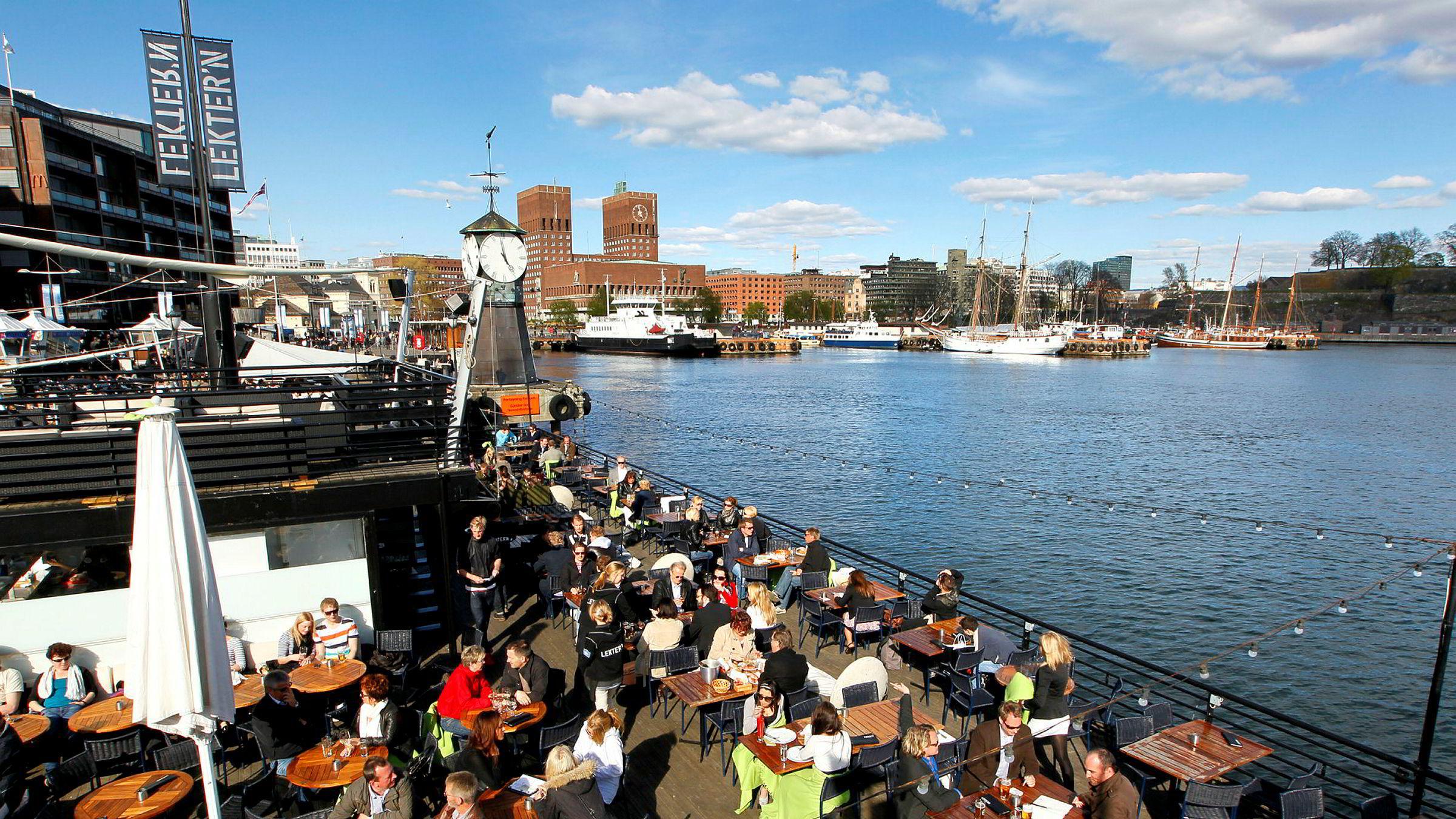 Flere og flere turister besøker Oslo.