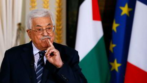 Palestinas president Mahmoud Abbas åpner møtet i PLOs sentralråd PCC som starter søndag og varer i to dager.
