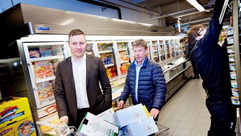 Coops oppkjøp av restene fra Ica Norge i 2015 hadde en rekke ringvirkninger i det norske dagligvaremarkedet, deriblant at Christian Lykke og Bunnpris fikk hånd om 43 nye butikker. Her møter tidligere Ica-kjøpmann Asgeir Knutsen Bunnpris-sjefen for første gang etter butikkoppkjøpet.