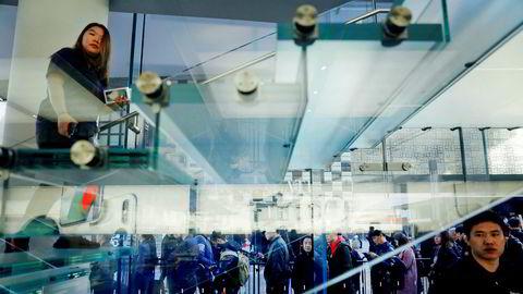 Apple er det selskapet som er mest sårbart hvis det bryter ut en full handelskrig mellom USA og Kina. Nesten alt av produkter produseres i Kina og nesten 20 prosent av omsetningen. Toppsjef Tim Cook har advart president Donald Trump om konsekvensene i et møte.