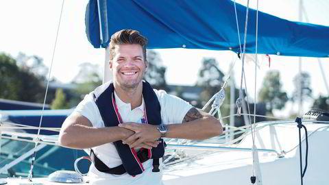 Magnus Frøshaug Ryhjell, forretningsutvikler hos Finn Motor, har aldri opplevd maken til interesse for lystbåter.