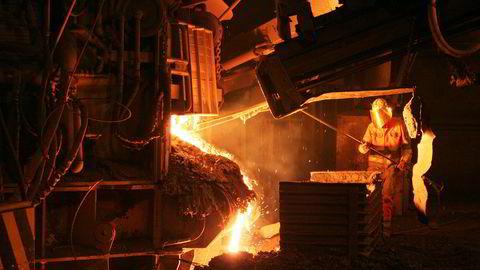 Celsa Armeringsstål i Mo i Rana eksporterer 70 prosent av stålproduksjonen på 600.000 tonn.