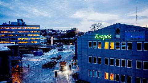 Europris på Bryn.