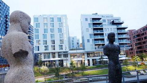 Clarion Hotel Oslo ligger sentralt like ved operaen og det nye Munchmuseet i Bjørvika.
