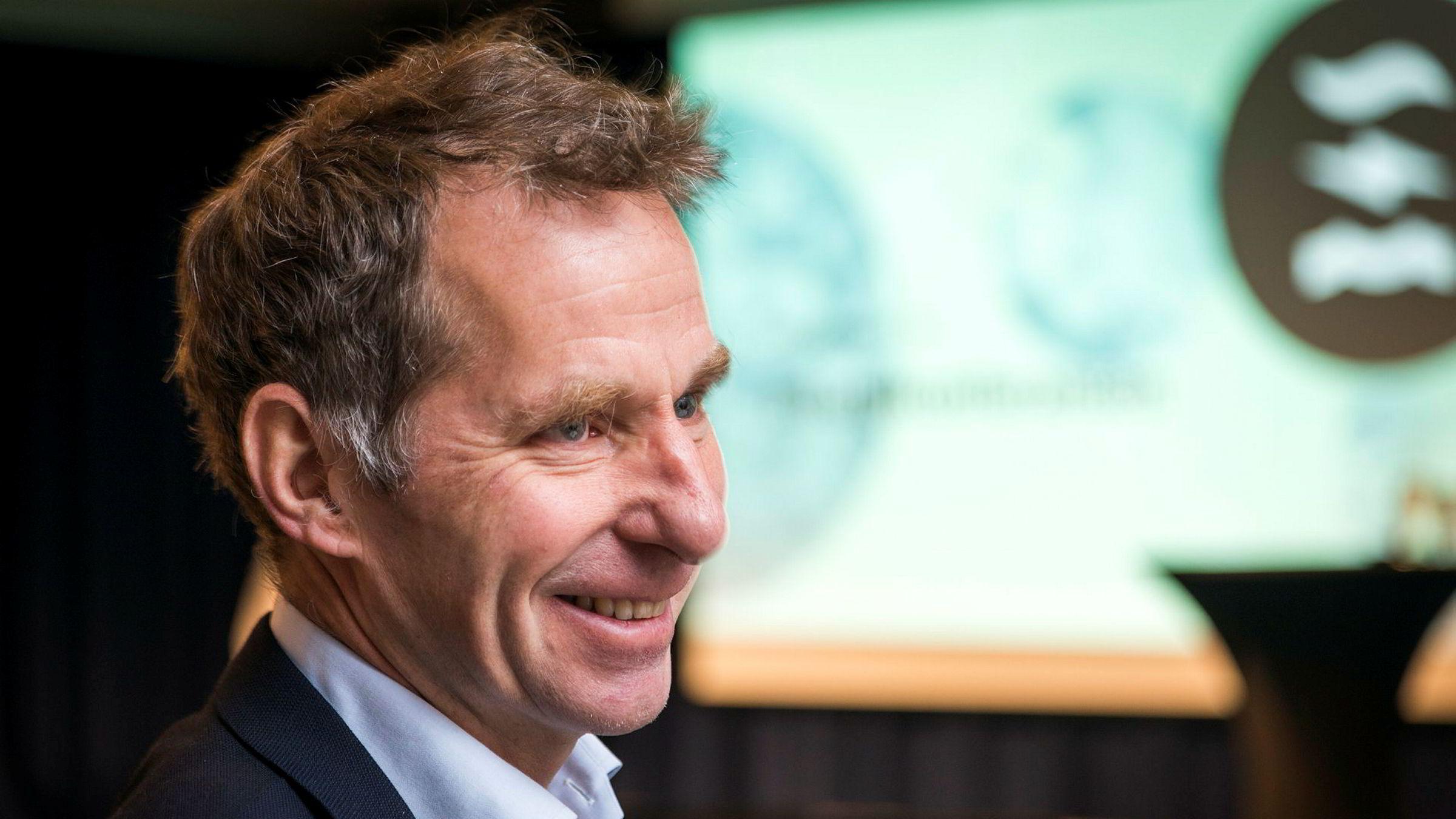 Jarand Rystad i Rystad Energy under Energikonferansen 2017.