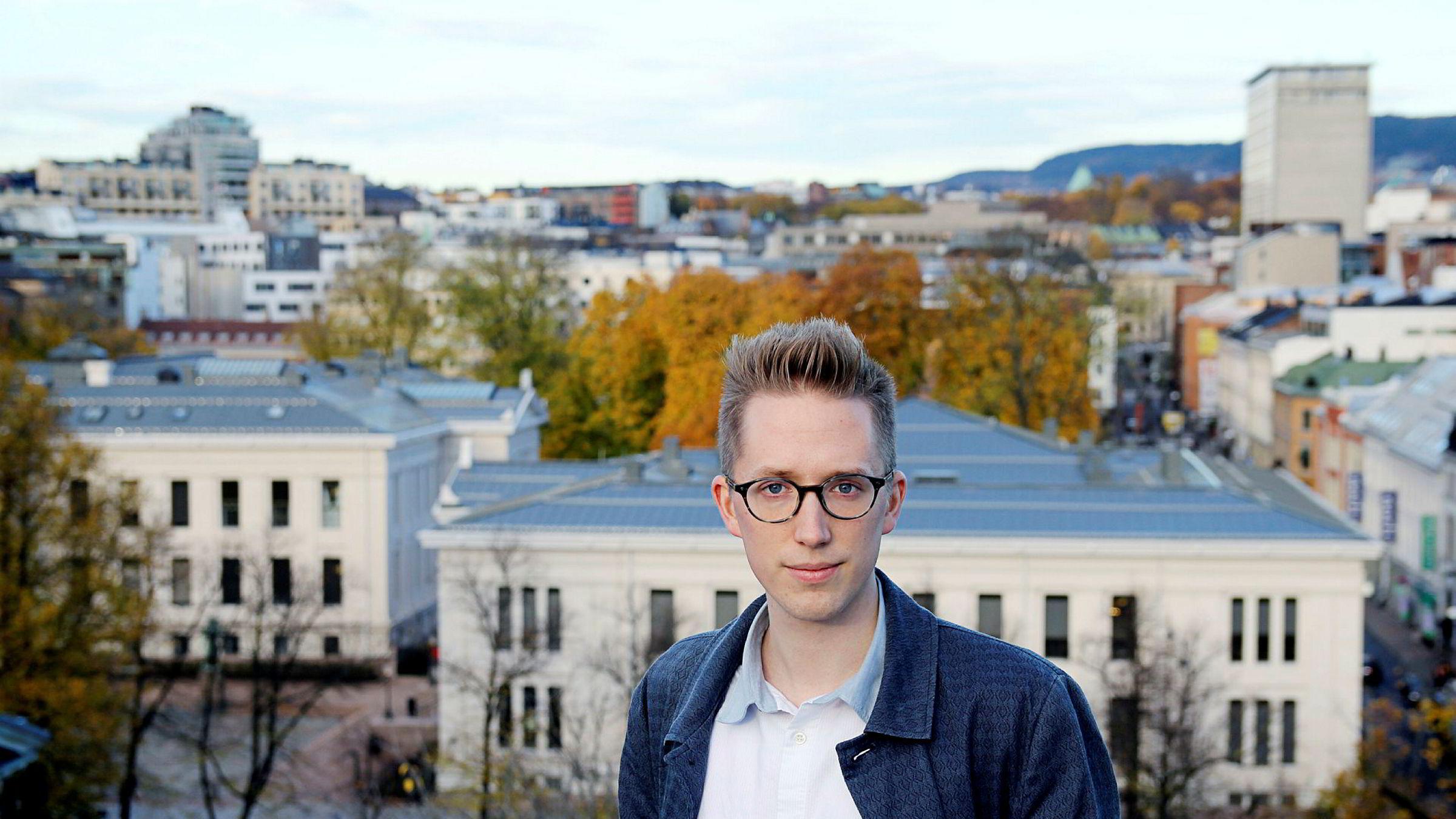 Kristian Tonning Riise trekker seg som leder av Unge Høyre.