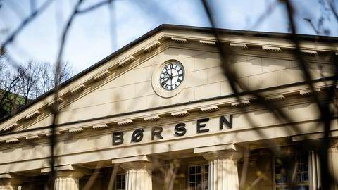 Oslo Børs har inntil slutten av sist uke vært preget av sterk oppgang de de siste tre månedene.