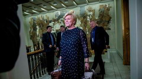 Ordførere gjør opprør mot finansminister Siv Jensen (Frp).