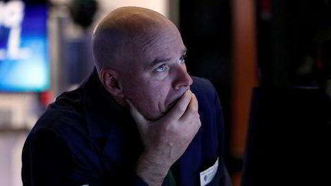 Wall Street klarte ikke å fortsette oppgangen fra mandag.