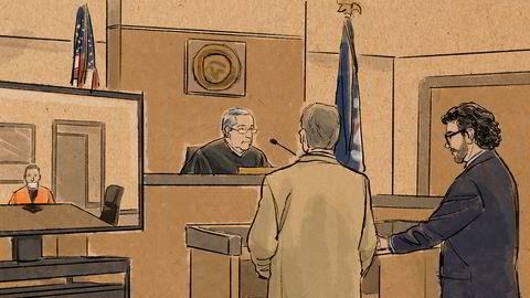 Derek Chauvin deltok via video på den andre rettshøringen for de fire betjentene som er siktet for drapet på George Floyd 25. mai. Dommer Peter Cahill har satt oppstarten av rettssaken til mars neste år i frykt for at presidentvalgkampen skal gjøre saken til et mediesirkus.