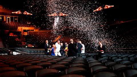 Den danske Melodi Grand Prix-finalen gikk av stabelen foran tomme seter i Royal Arena lørdag 7. mars. Denne uken ble de aller fleste konserter fremover avlyst.