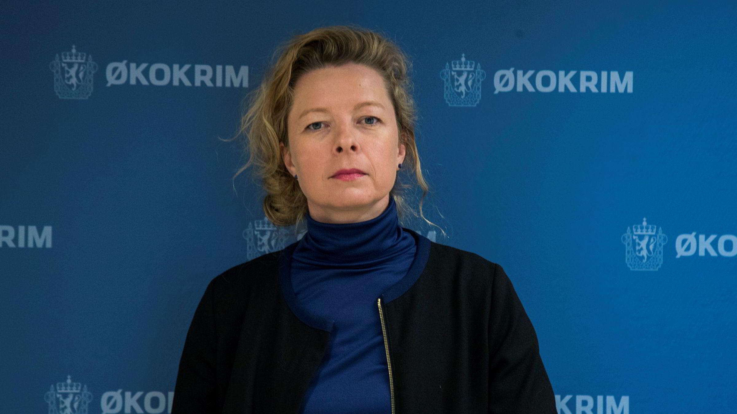 Fungerende Økokrim-sjef Hedvig Moe. Etaten skal nå etterforske DNB i forbindelse med den mye omtalte Samherji-saken.