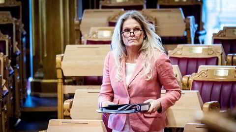 Ingvil Smines Tybring-Gjedde gikk av som statsråd i januar.