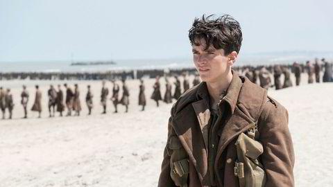 Store filmer trekker er stort publikum – som driver annonsemarkedet på kino opp.Bildet er fra kinosuksessen Dunkirk, som hadde premiere i juli.