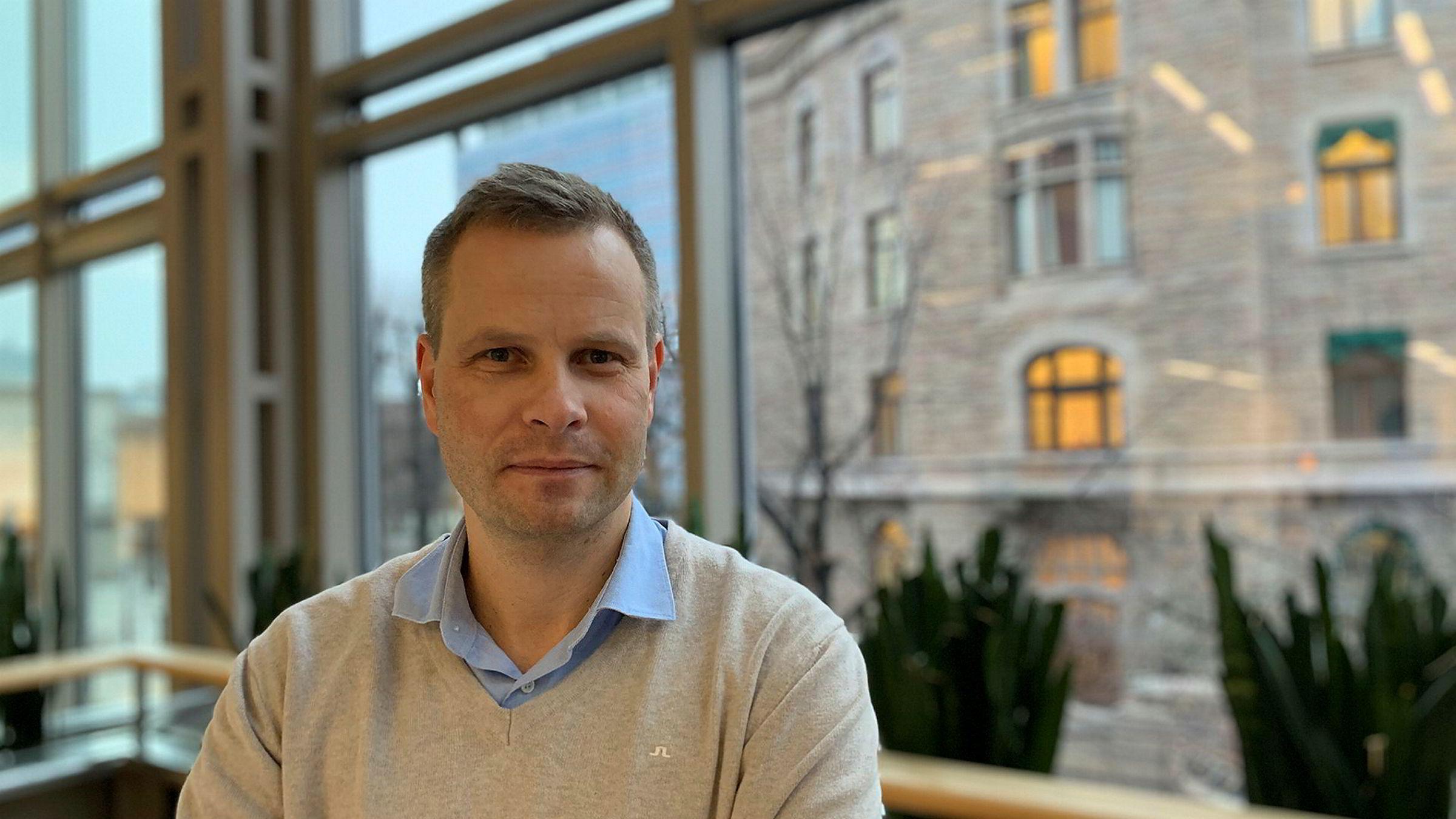 Trond Olav Skrunes har vært i VG i to og et halvt år.