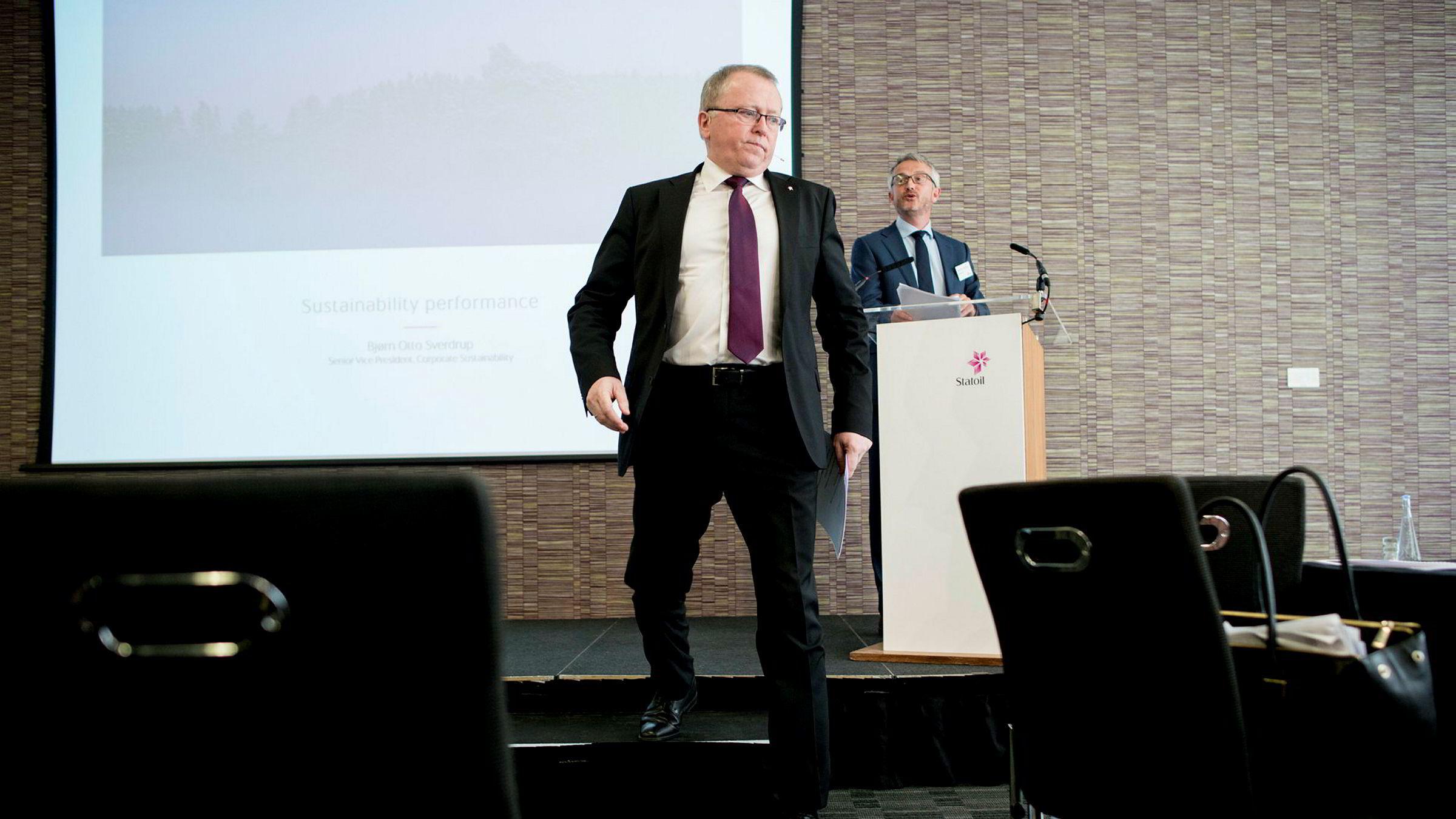 Equinor og toppsjef Eldar Sætre legger nær fire milliarder kroner på bordet for et dansk energihandelsselskap.
