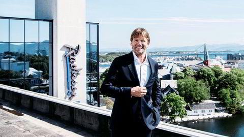 SATS-gründer og storaksjonær Bjørn Maaseide får synliggjort sine verdier gjennom selskapets børsnotering.