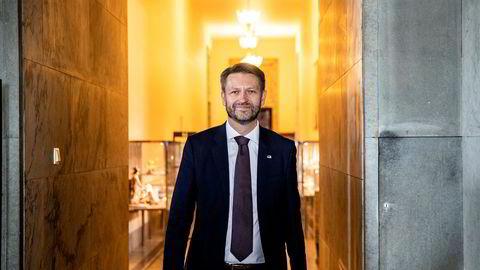 Eirik Lae Solberg (H) i Oslo Høyre sier at flere lokallag i hovedstaden velger samarbeid med MDG og ikke Frp etter valget. Foto: Stian Lysberg Solum / NTB scanpix