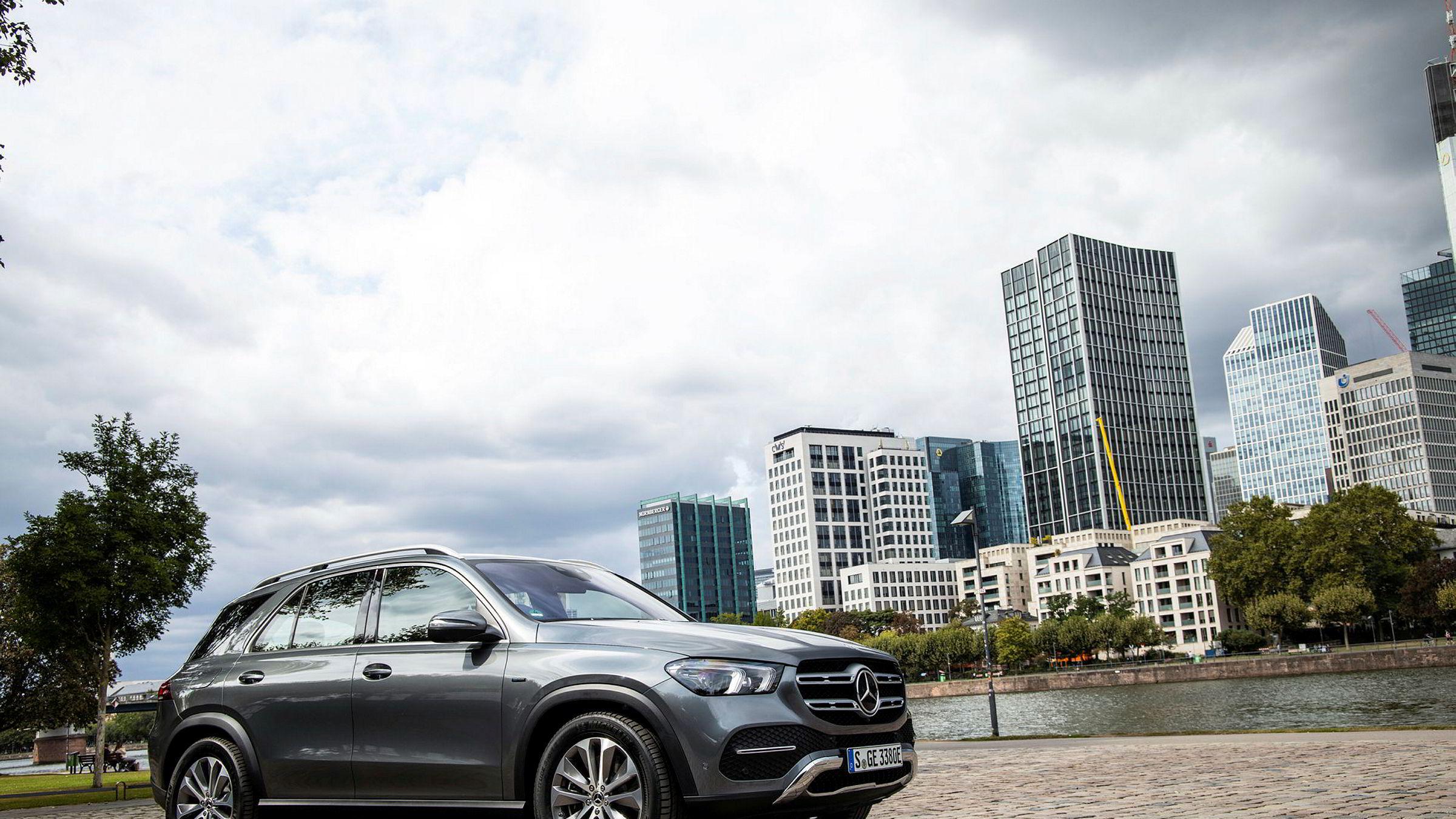 Mercedes-Benz GLE 350 de blir den ladbare hybriden med størst batteri i denne klassen.