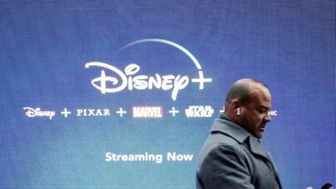 Disney lanserte sin strømmetjeneste Disney plus tidligere denne uken. Allerede har flere millioner registrert seg som brukere.